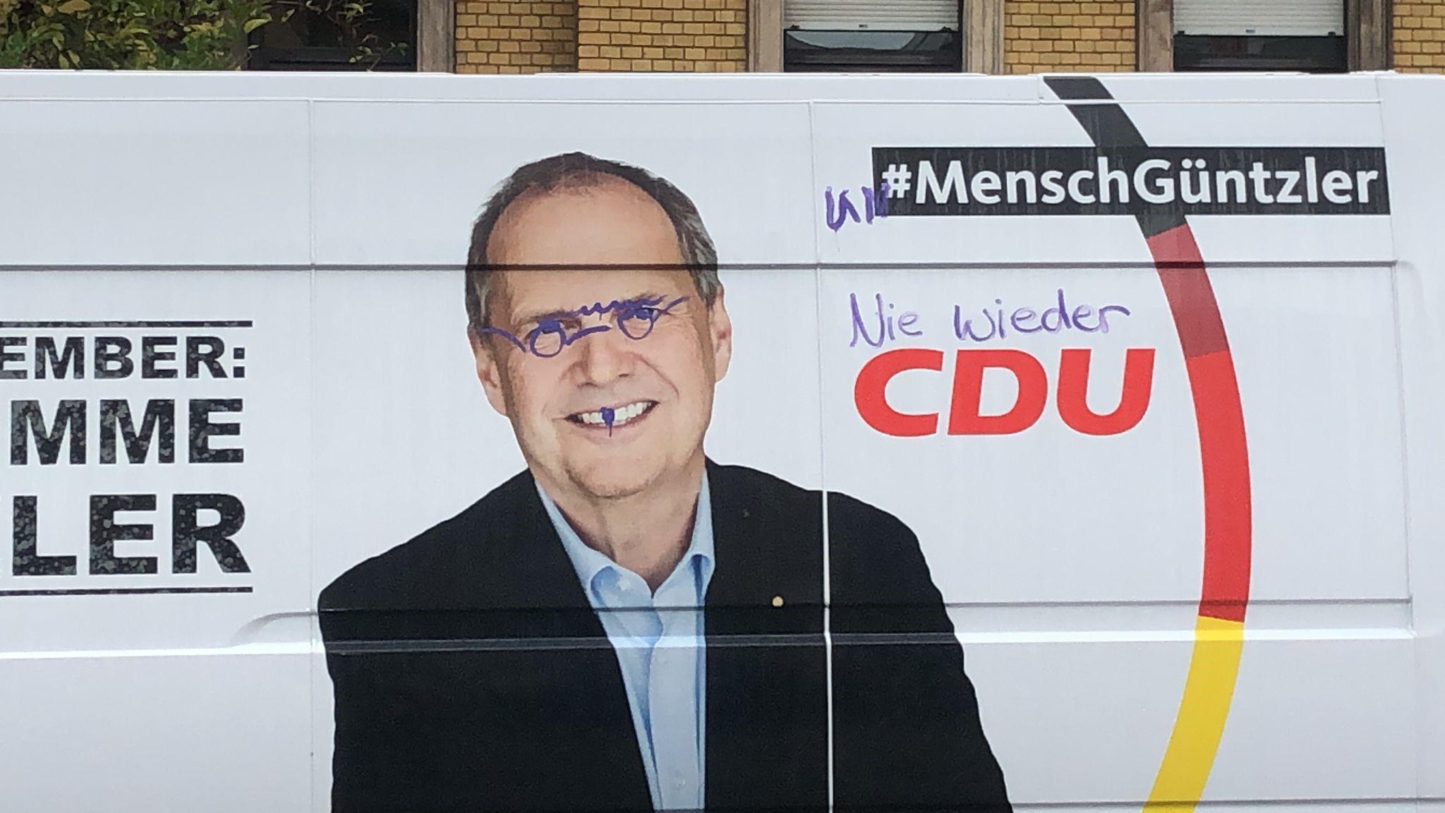 Read more about the article Erneute Sachbeschädigung an Wahlkampfauto der CDU